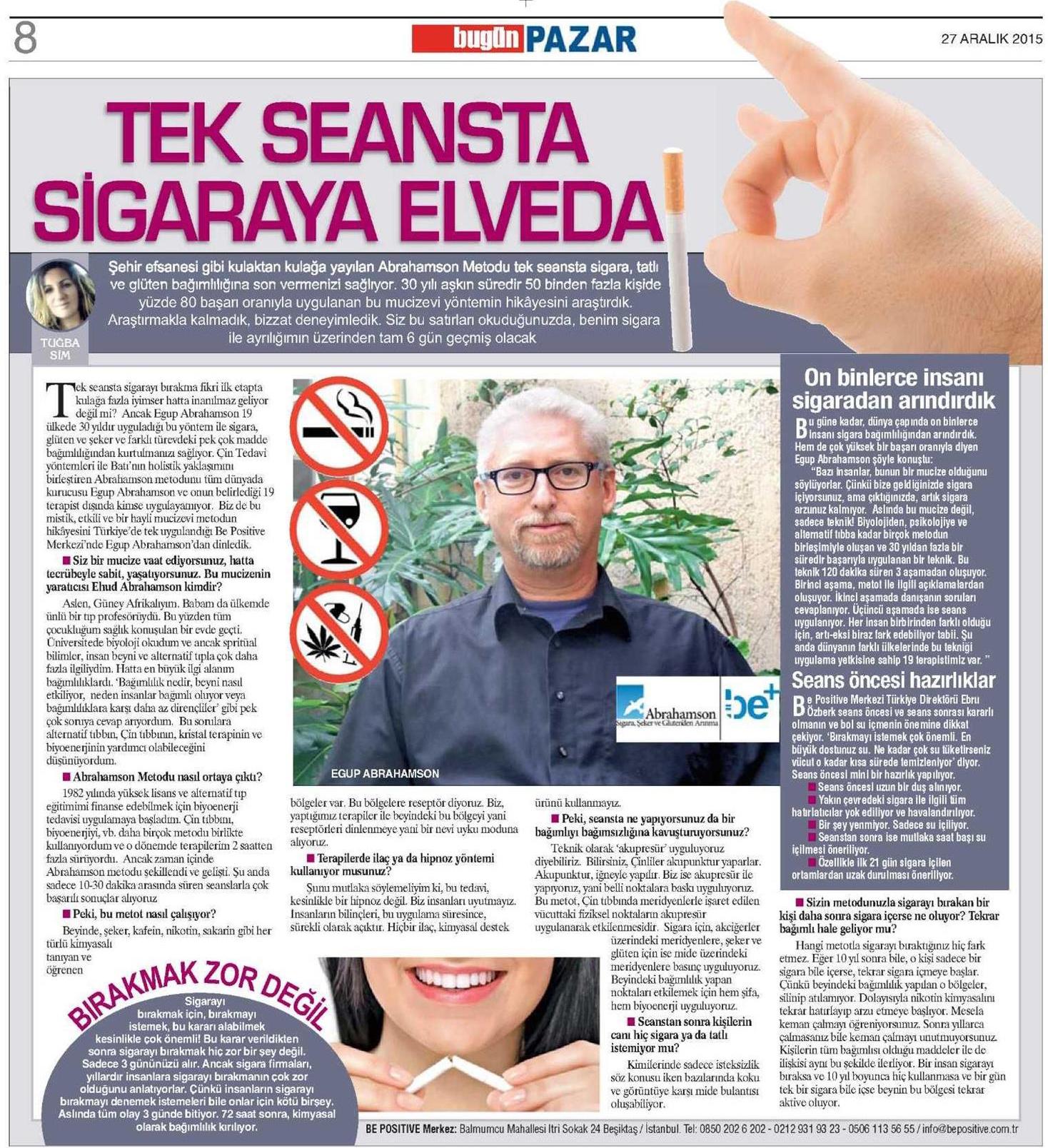 bepositive bugün gazetesi
