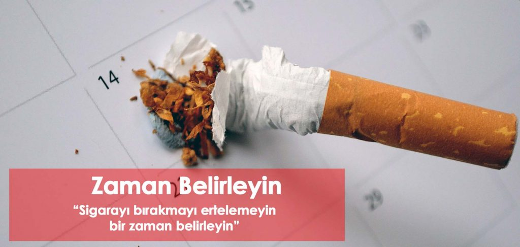 Sigarayı bırakma Zamanı